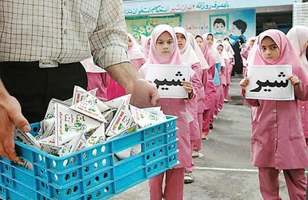 توزیع شیر در مدارس به 8 استان دیگر می رسد، عدم تخصیص اعتبار برای تامین شیر