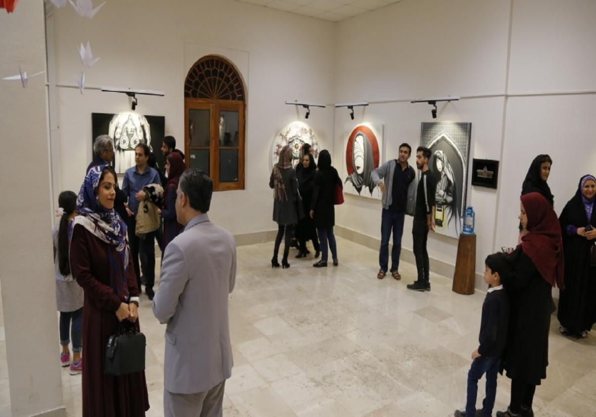 نمایشگاه نقاشی آن سوی رویای زنانه افتتاح شد