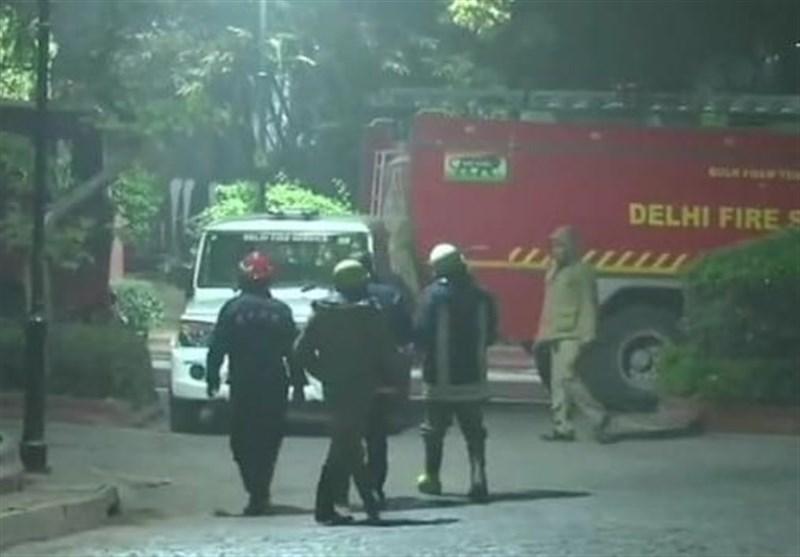 آتش سوزی در اقامتگاه نخست وزیر هند