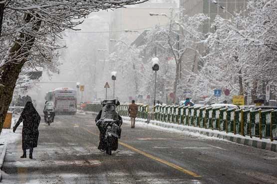 شروع بارش برف و باران شدید در بیشتر مناطق کشور، هشدار کاهش 15 درجه ای دما
