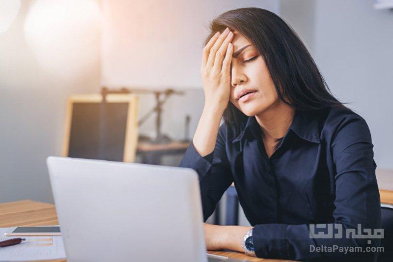 درمان سریع سردرد با روش های خانگی