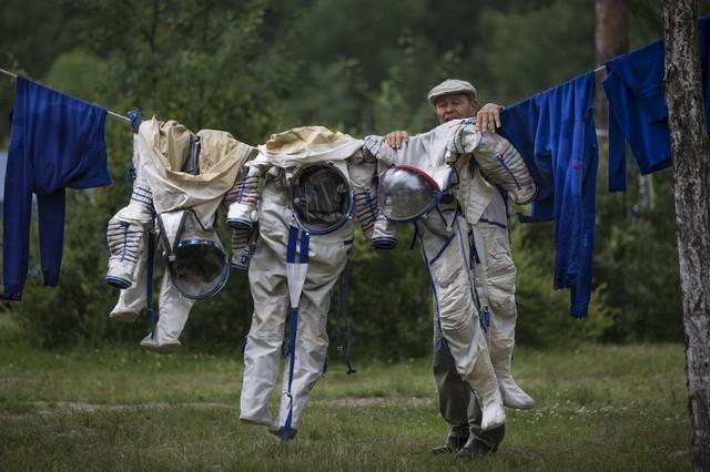 لباس شستن در فضا امکانپذیر می گردد