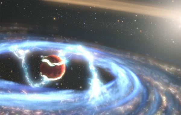 تلسکوپ هابل فرآیند شگفت انگیز تشکیل یک سیاره فراخورشیدی را رصد کرد