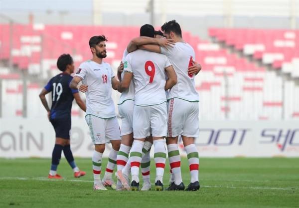 AFC: شش تغییر ایران خللی در عملکرد تیم ایجاد نکرد، فیفا: امیدهای تیم ملی برای صدرنشینی زنده ماند