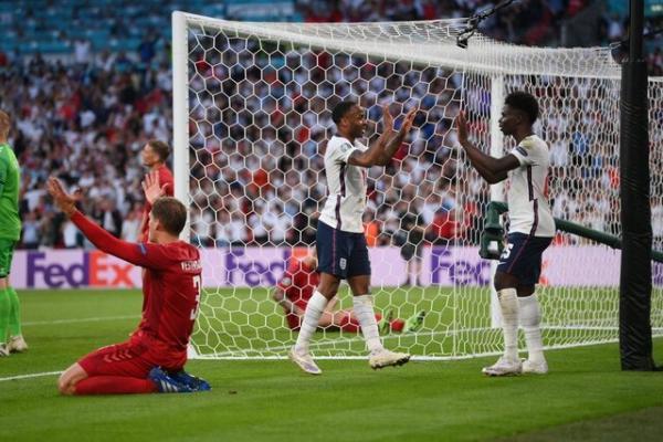 انگلیس به فینال یورو 2020 رسید